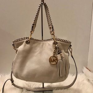 Michael Kors Bags - MICHAEL KORS LARGE SHOULDER BAG-TAN